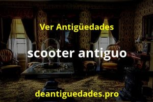 scooter antiguo